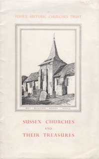 SHCT: Susex Churches and their Treasures. Appeal cover